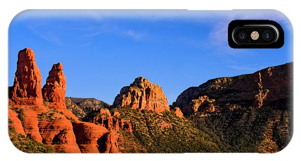 IPhone Case featuring the photograph Sweeping Sedona by Mark Myhaver