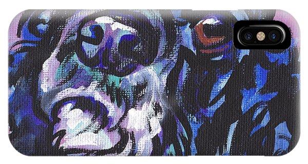 Cocker Spaniel iPhone Case - Sweet Cocker by Lea S