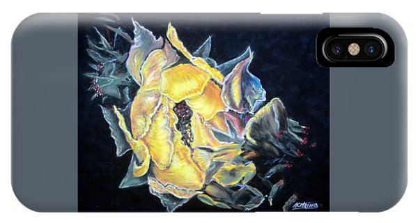 Sweet Desert Rose   Pastel IPhone Case
