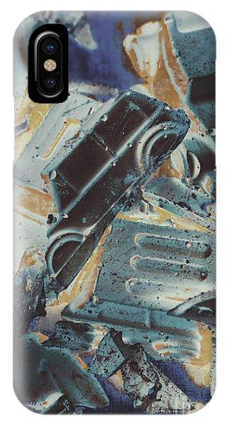 Crash iPhone X Case - Sweet Destruction by Jorgo Photography - Wall Art Gallery