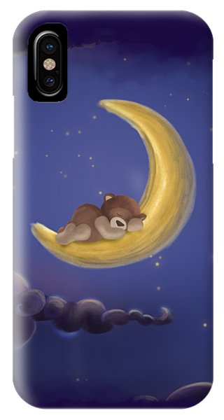 IPhone Case featuring the drawing Sweet Dreams by Julia Art
