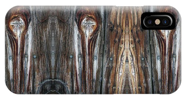 Sweet Faces Seen On A Picket Fence IPhone Case