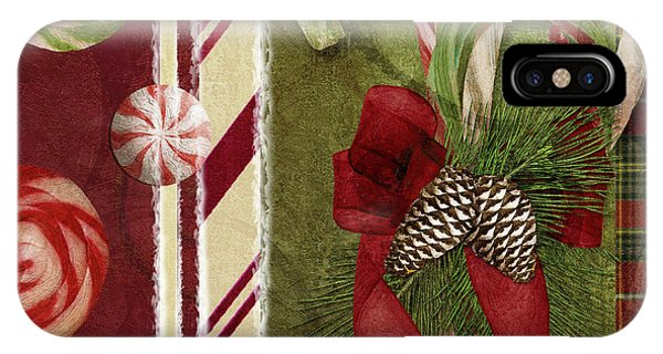 Amaryllis iPhone Case - Sweet Holiday I by Mindy Sommers