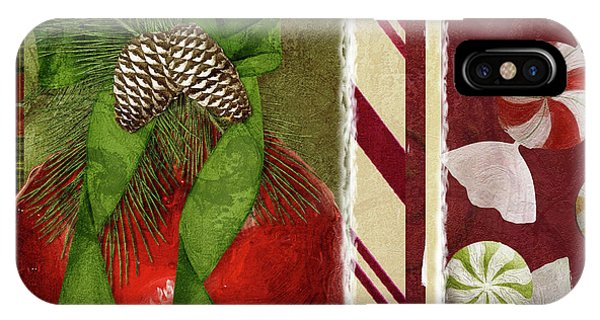 Amaryllis iPhone Case - Sweet Holiday II by Mindy Sommers