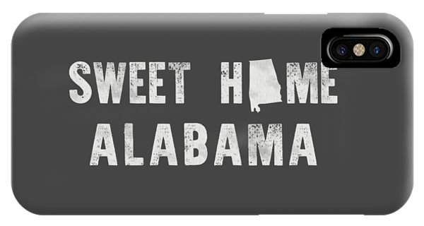 Sweet Home Alabama IPhone Case