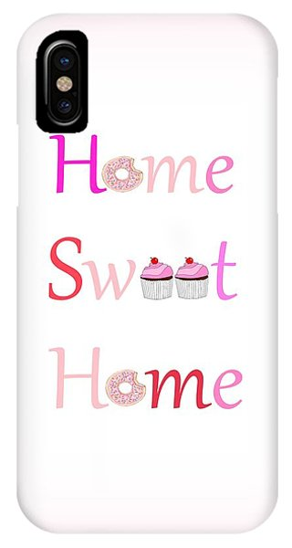 Sweet Home - Typography IPhone Case