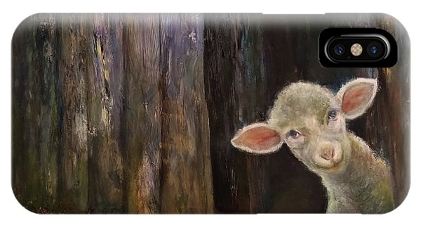 Sweet Lamb IPhone Case