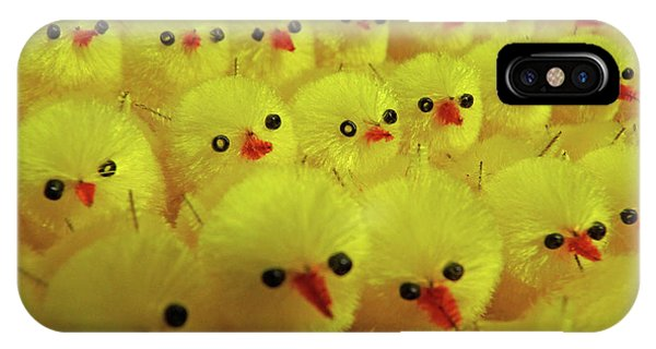 Sweet Little Chicks Waiting For Easter IPhone Case