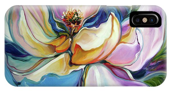 Sweet Magnoli Floral Abstract IPhone Case