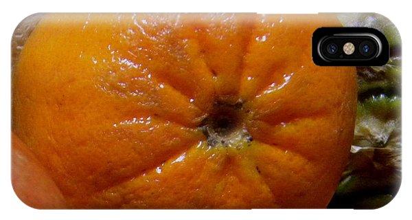 Sweet Mandarine Phone Case by Fanny Diaz
