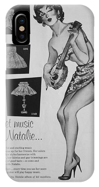 sweet music by Natalie... IPhone Case