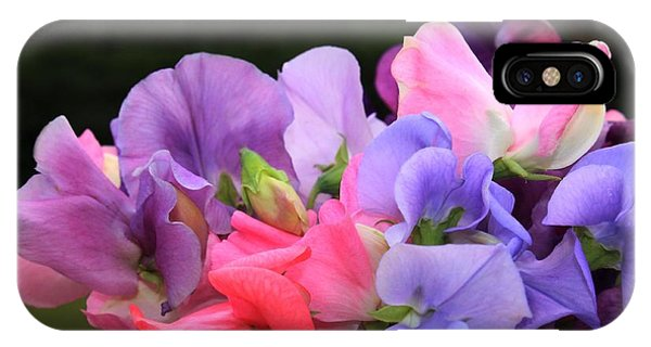 Sweet Pea Floral IPhone Case