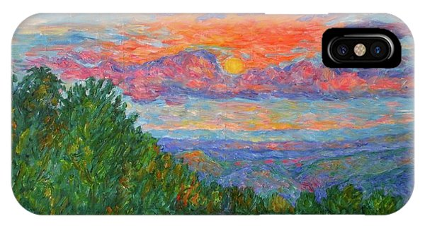 iPhone Case - Sweet Pea Morning On The Blue Ridge by Kendall Kessler