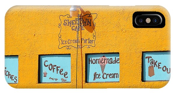Sweet Town Cafe IPhone Case