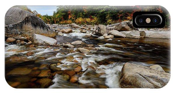 Swift River Autumn Nh IPhone Case