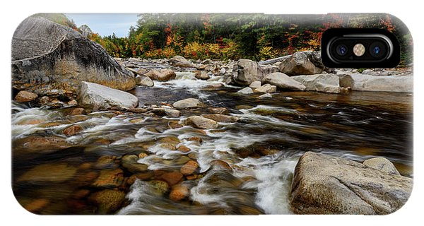 Swift River Autumn Nh IPhone Case