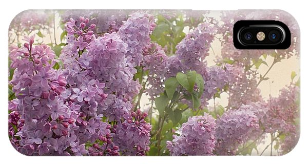 Swimming In A Sea Of Lilacs IPhone Case