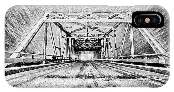 Swing Bridge Blizzard IPhone Case