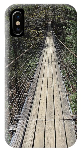 Swinging Bridge Falls Creek Falls State Park IPhone Case