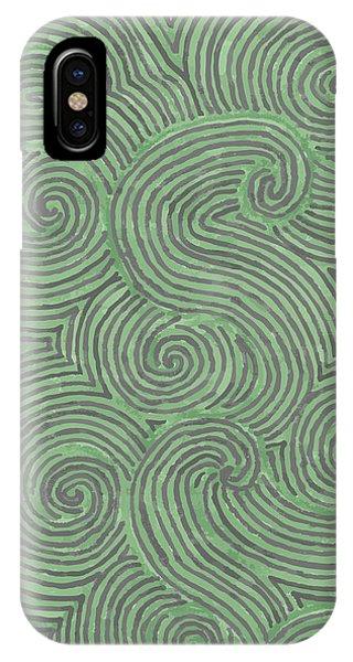 Swirl Power IPhone Case