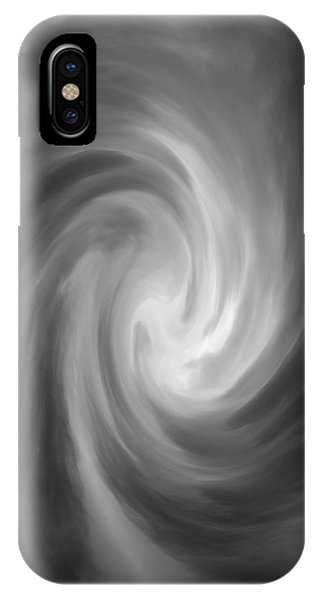 IPhone Case featuring the photograph Swirl Wave Iv by David Gordon
