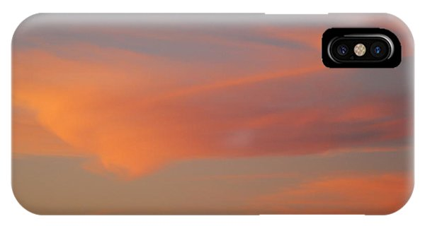 Swirling Clouds In Evening IPhone Case
