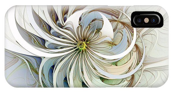 Swirling Petals IPhone Case