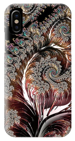 Swirls And Roots IPhone Case