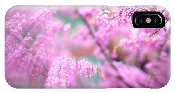 Swirls Of Spring IPhone Case