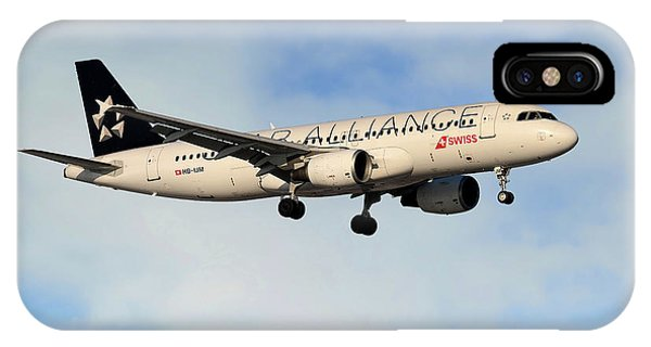 Swiss Airbus A320-214 IPhone Case