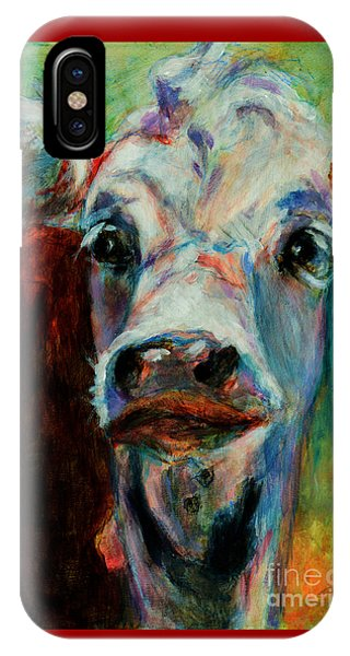 Swiss Cow - 1 IPhone Case
