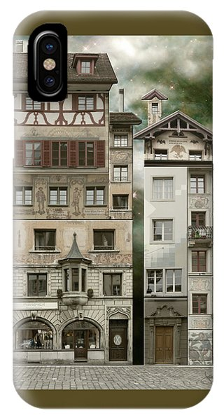 Swiss Reconstruction IPhone Case