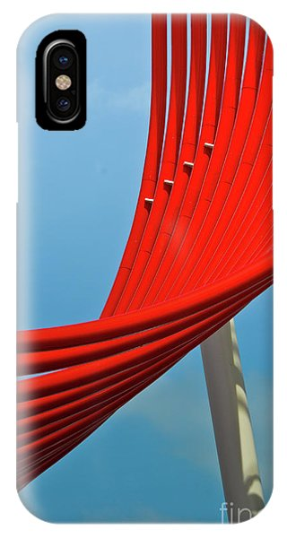 IPhone Case featuring the photograph Swoosh by Jeff Loh
