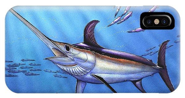 Swordfish In Freedom IPhone Case