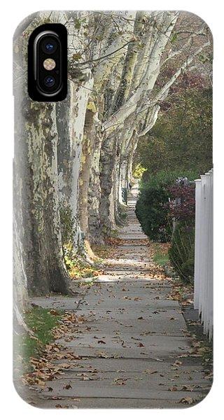 Sycamore Walk IPhone Case