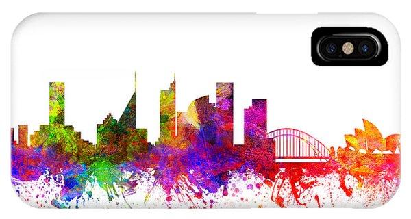Sydney Australia Cityscape 02 IPhone Case