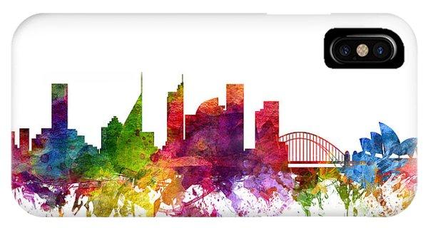 Sydney Australia Cityscape 06 IPhone Case