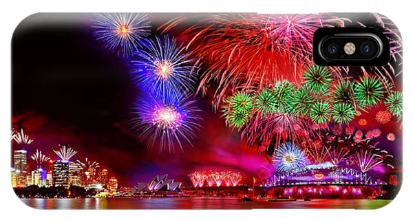 Business iPhone Case - Sydney Celebrates by Az Jackson