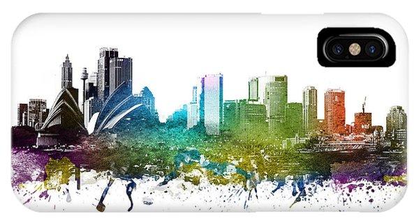 Sydney Cityscape 01 IPhone Case