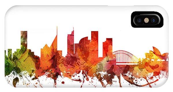 Sydney Cityscape 04 IPhone Case