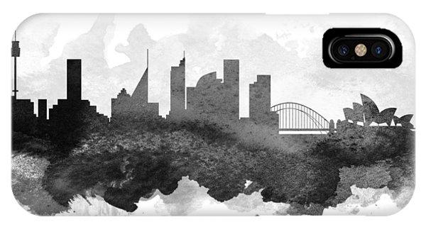 Sydney Cityscape 11 IPhone Case