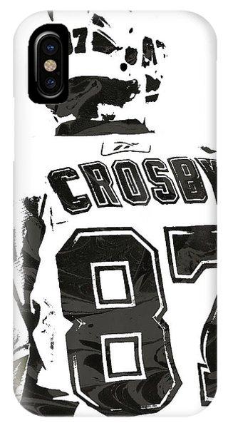 Sydney Crosby Pittsburgh Penguins Pixel Art 2 IPhone Case