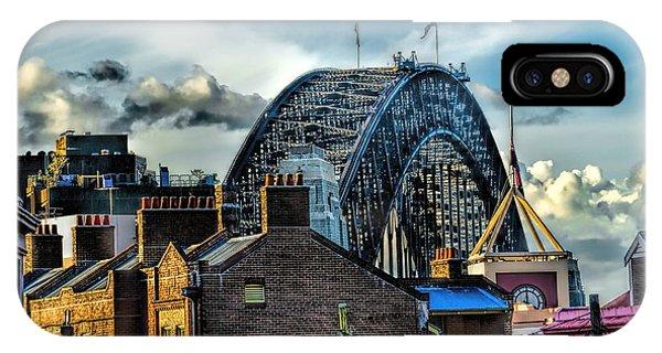 Sydney Harbor Bridge IPhone Case