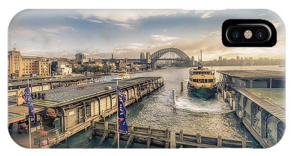 Sydney Harbor I IPhone Case