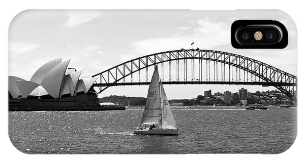 Sydney Harbour No. 1-1 IPhone Case