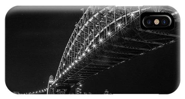 Sydney Harbour Bridge At Night IPhone Case