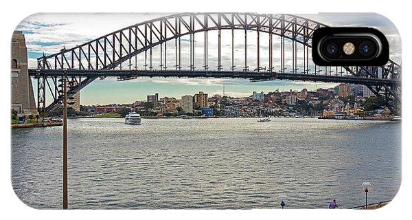 IPhone Case featuring the photograph Sydney Harbour Bridge by Elaine Teague