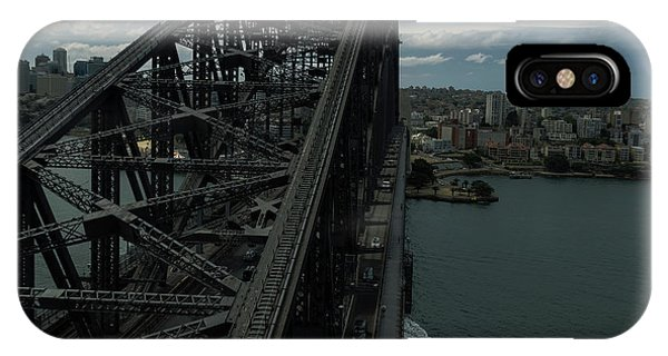Sydney Harbour Bridge View From Tower IPhone Case