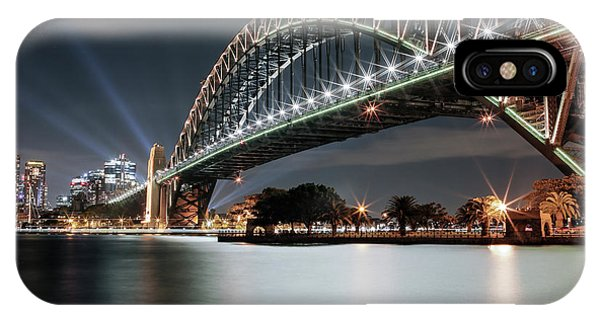 Sydney Harbour Lights IPhone Case