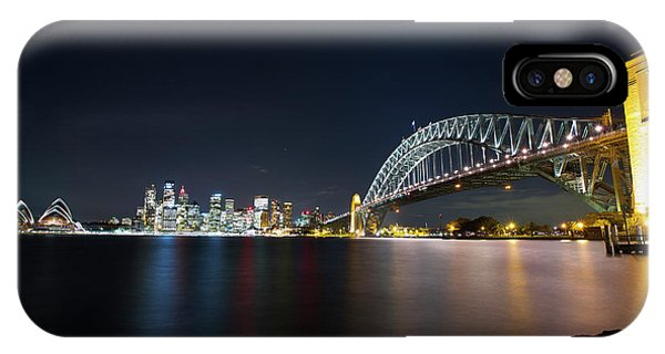 Sydney Harbour Silk IPhone Case